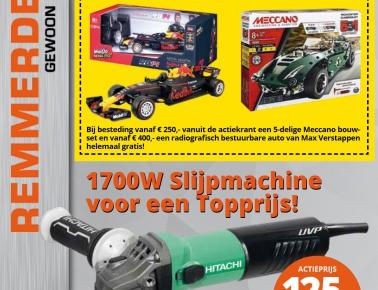 Gratis RC F1 auto of Gratis Meccano